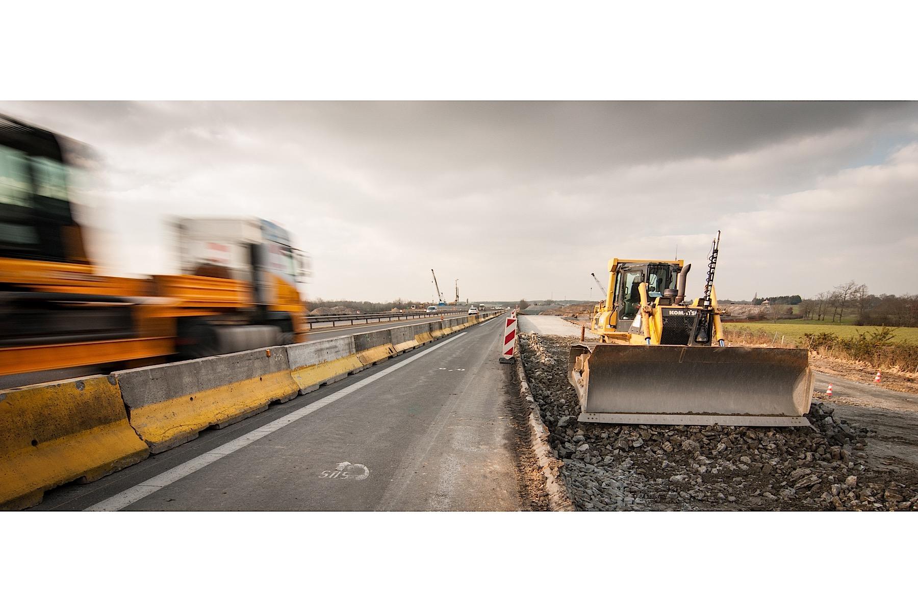 eurovia suivi photo de chantier changeur d 39 autoroute 1 2 atypix photographie d. Black Bedroom Furniture Sets. Home Design Ideas