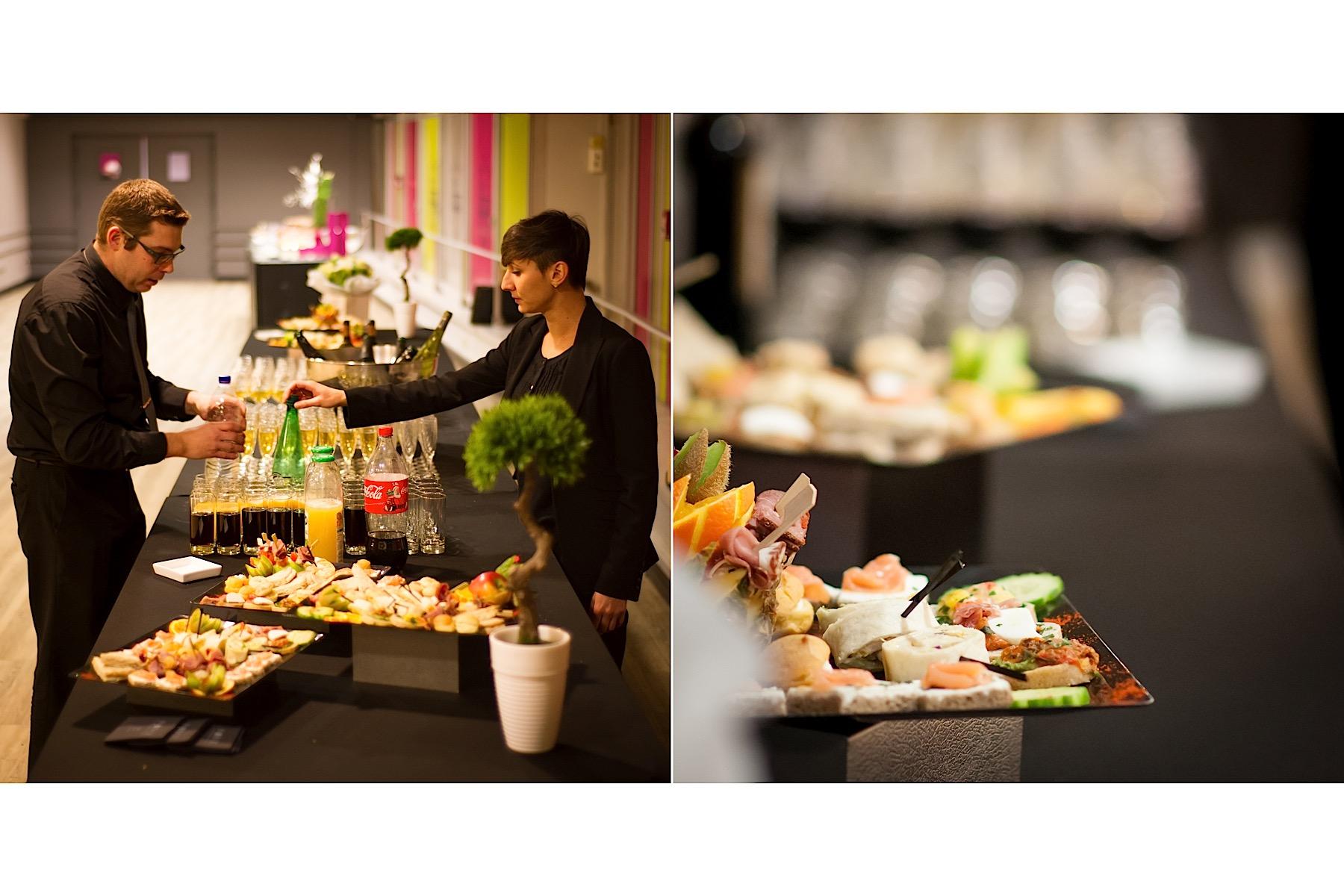 Photographe évènementielle buffet