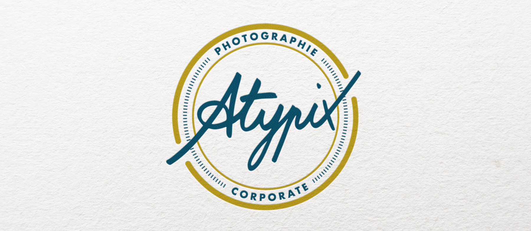 Logo Atypix by Studio Katra