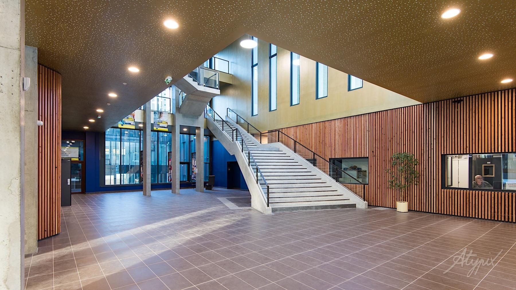 atrium campus nouveau tertre