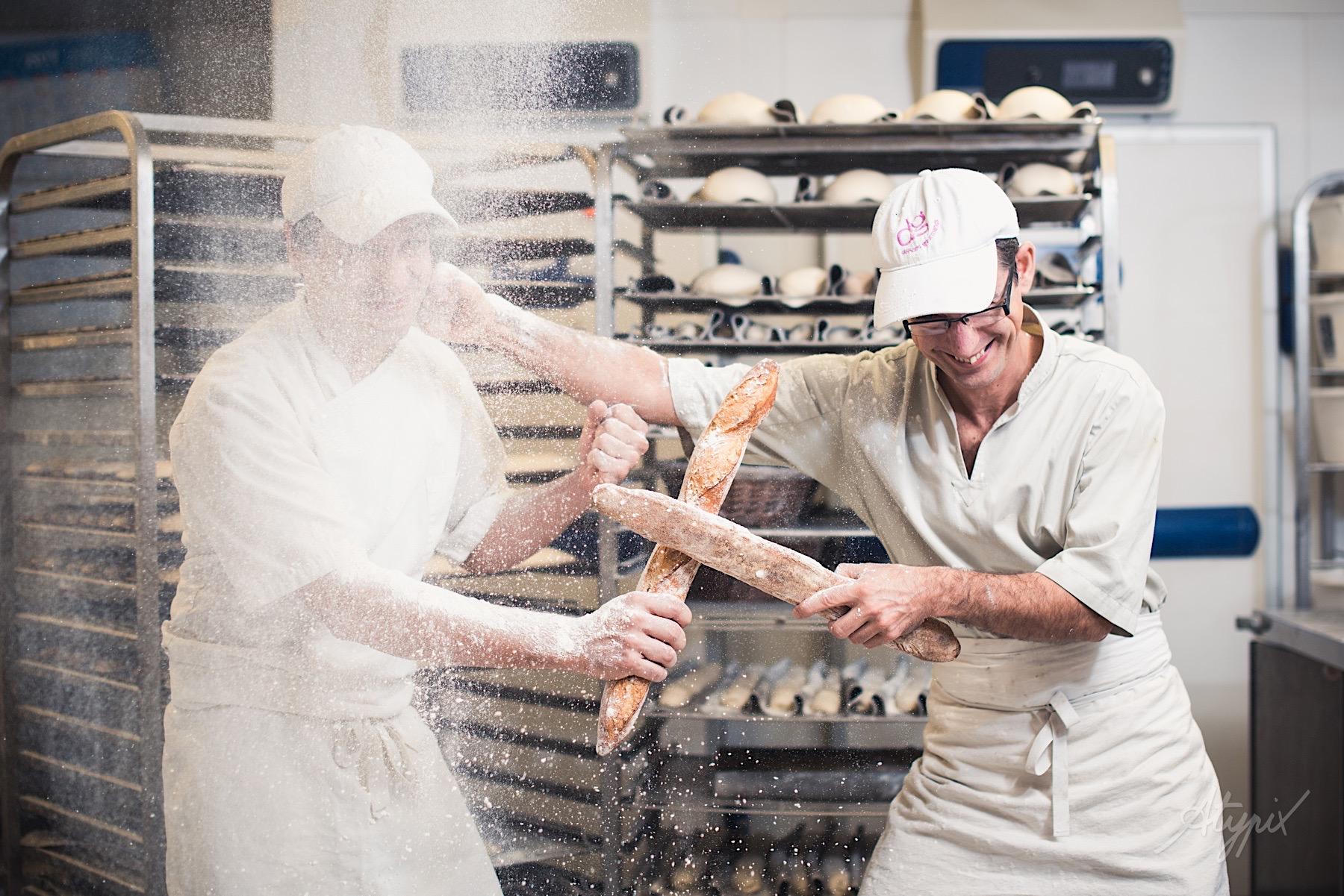 équipe boulangerie ambiance