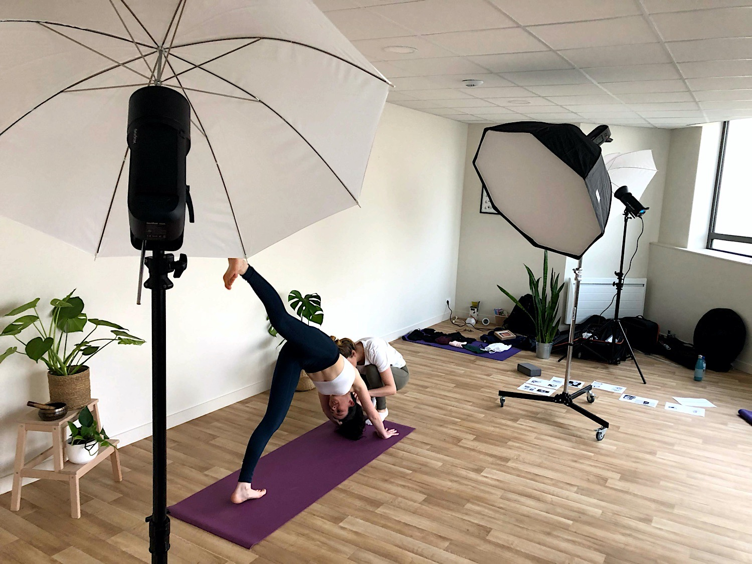 shooting yoga