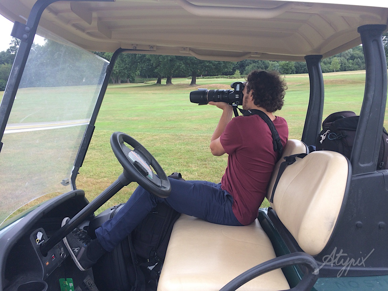 making of reportage golf
