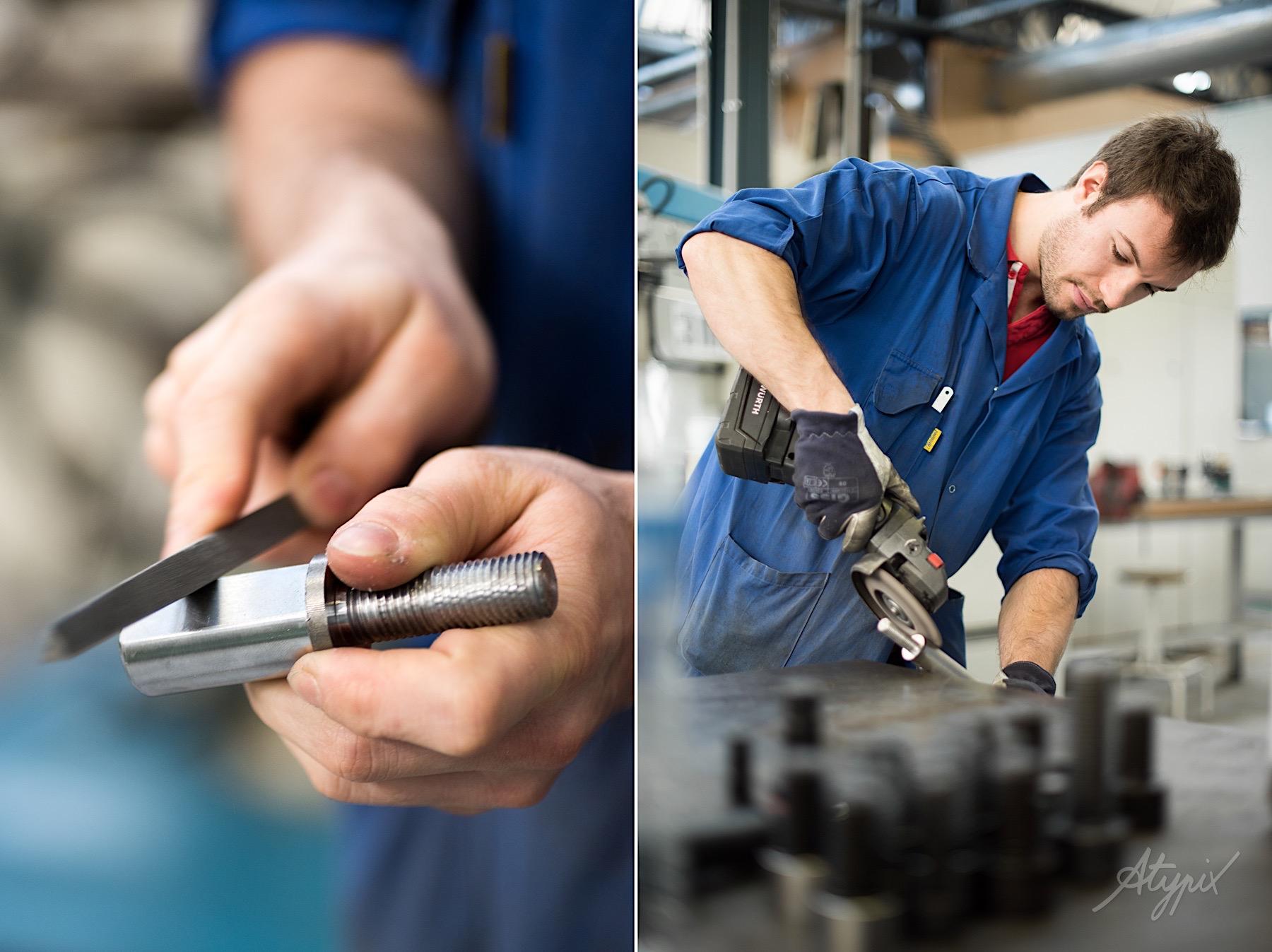 contrôle qualité produit usine