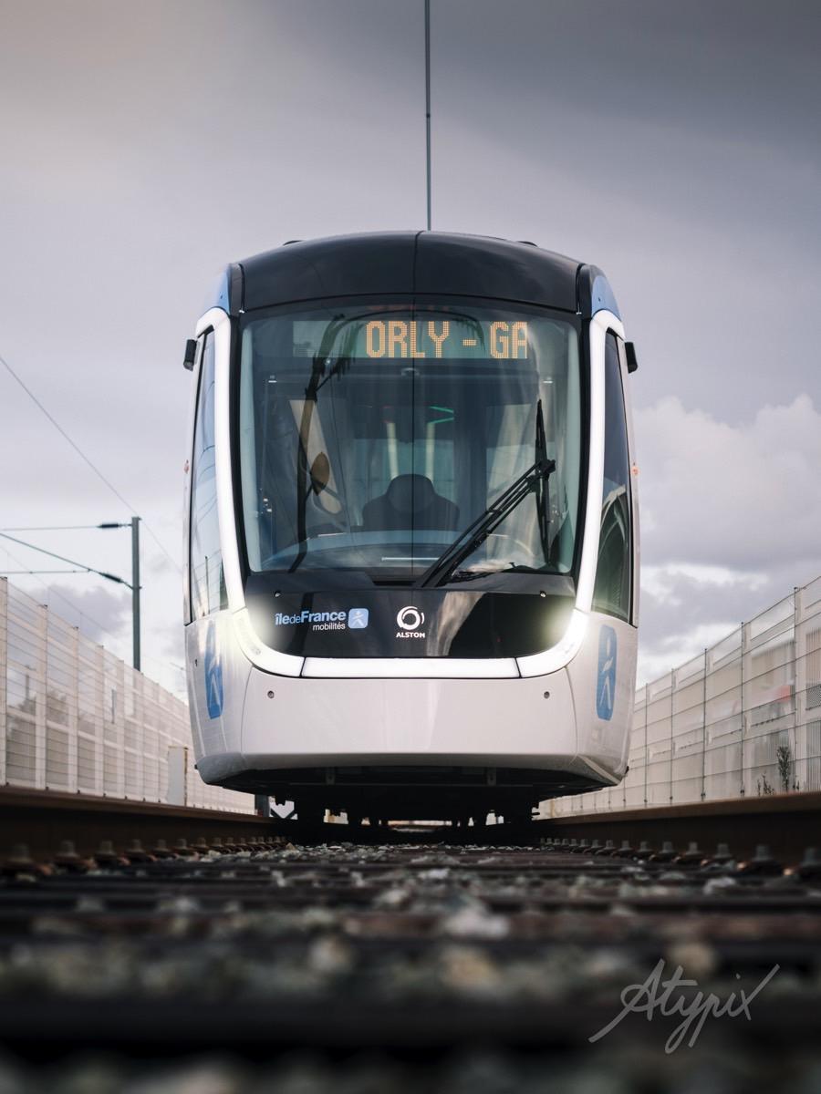 Photo tramway ile de france mobilités