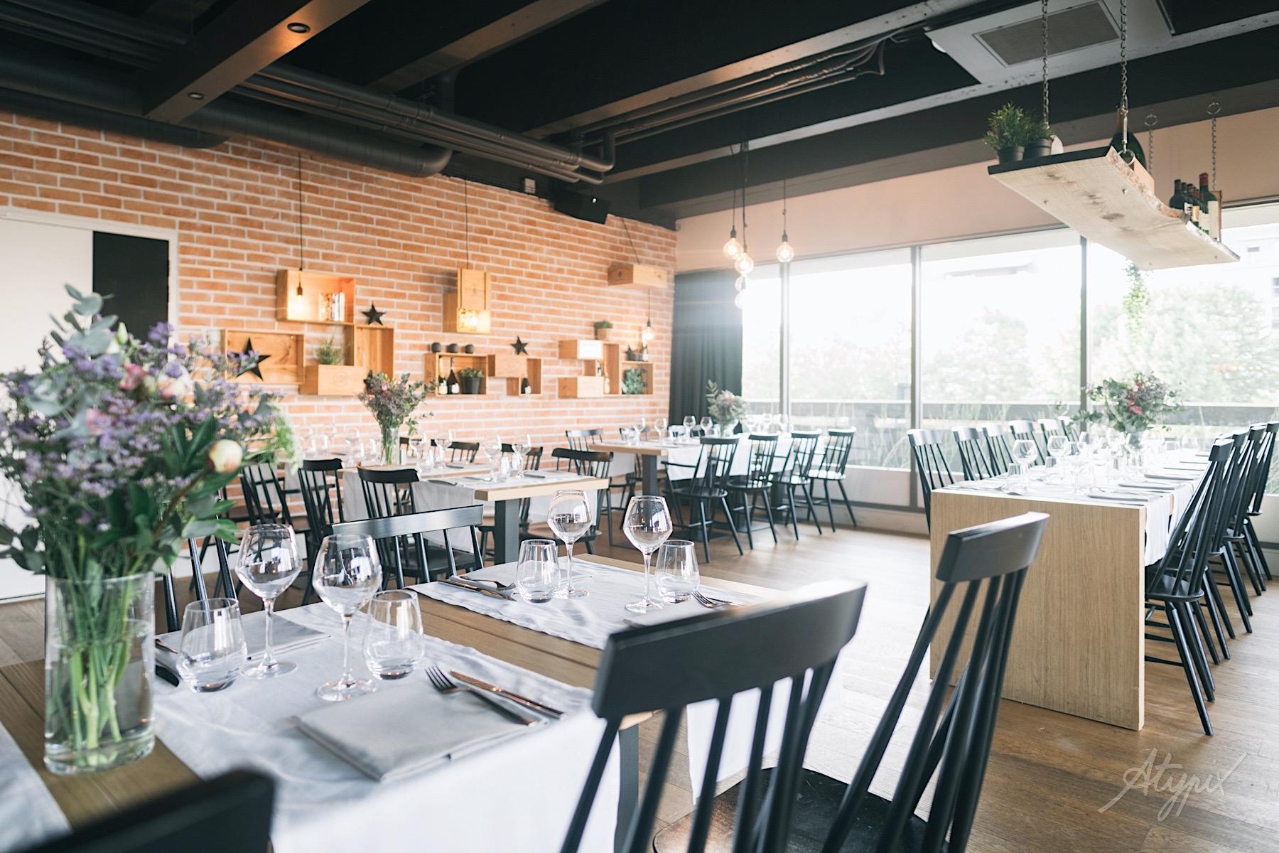 photographe cadre réception restaurant