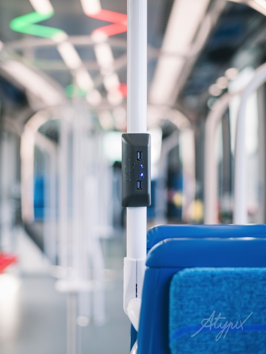 chargeur usb tramway t9