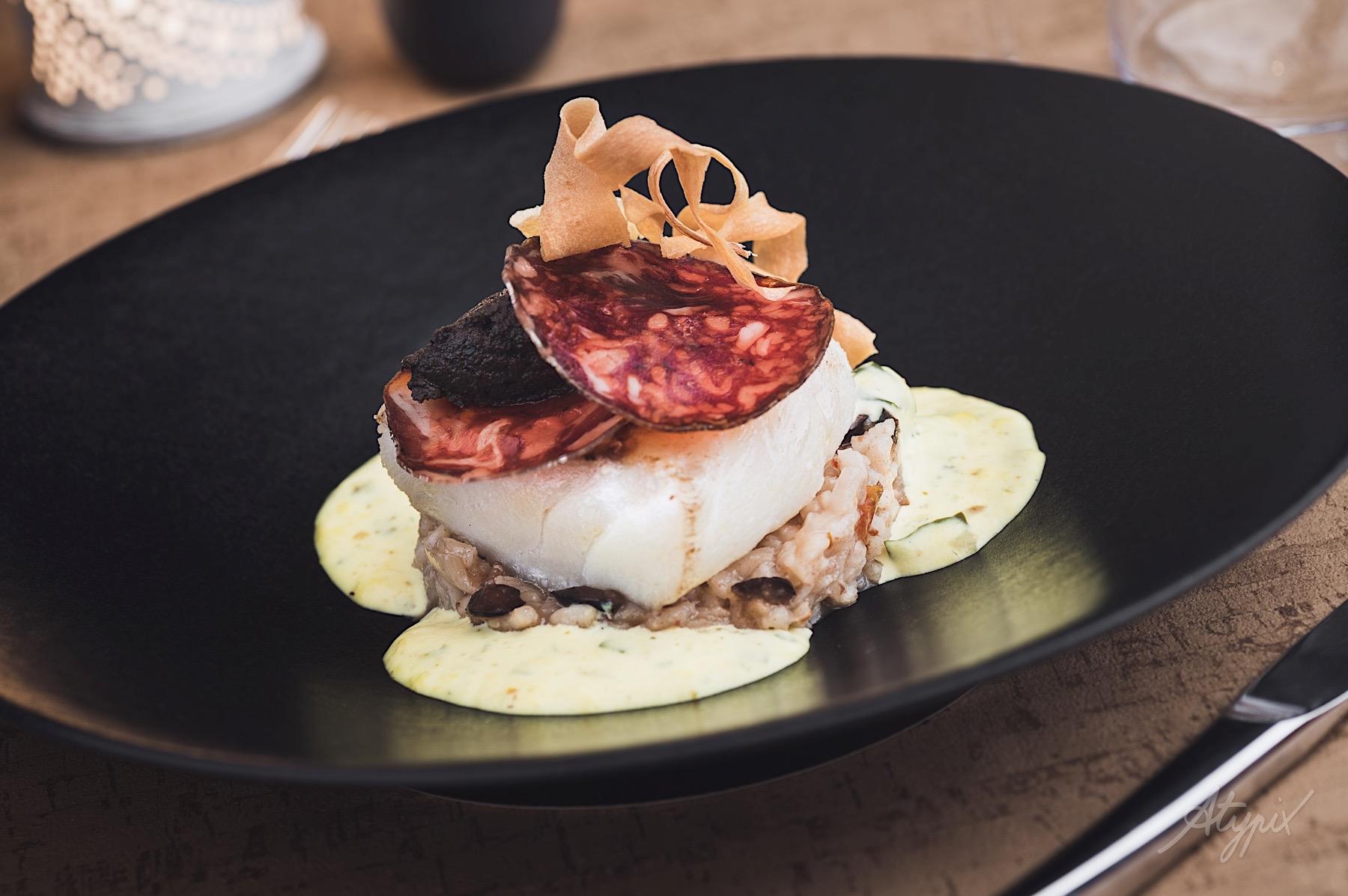 photographe restaurant poisson du jour