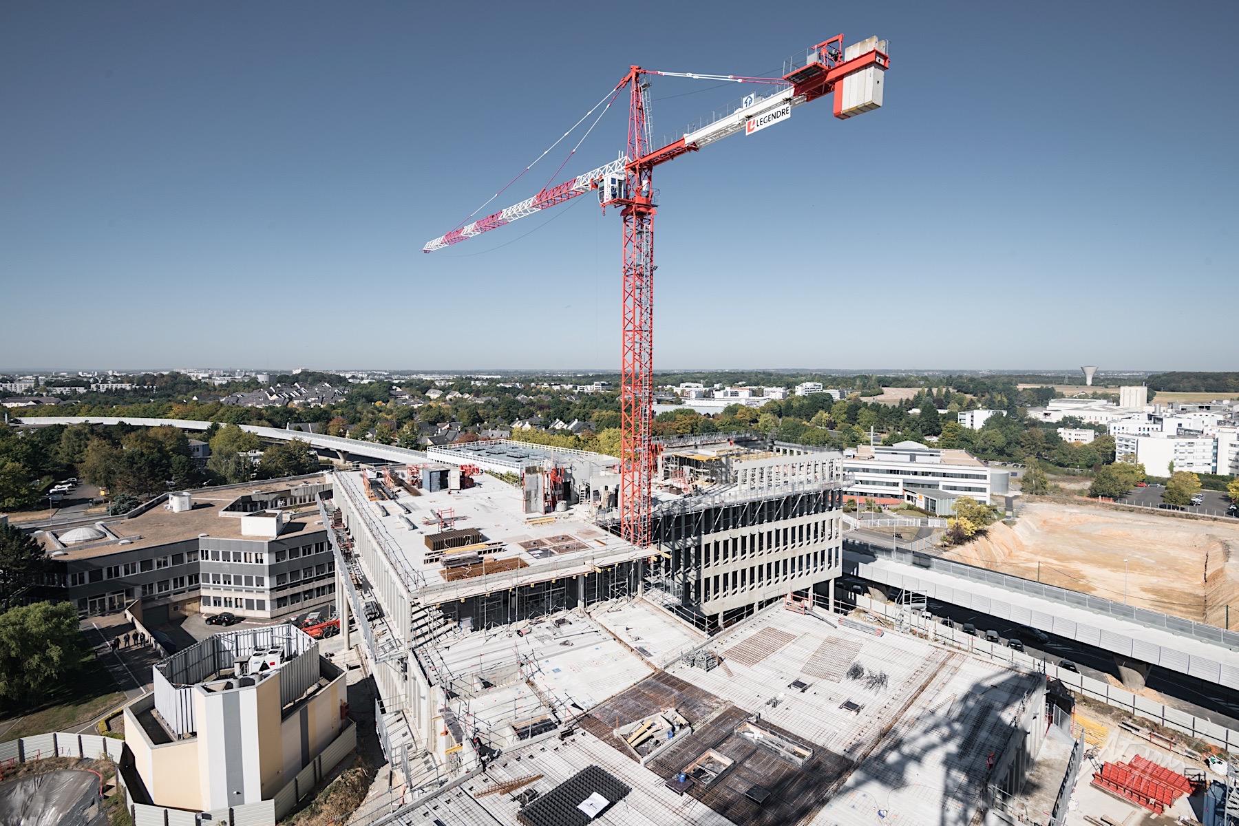 photographe drone suivi de chantier