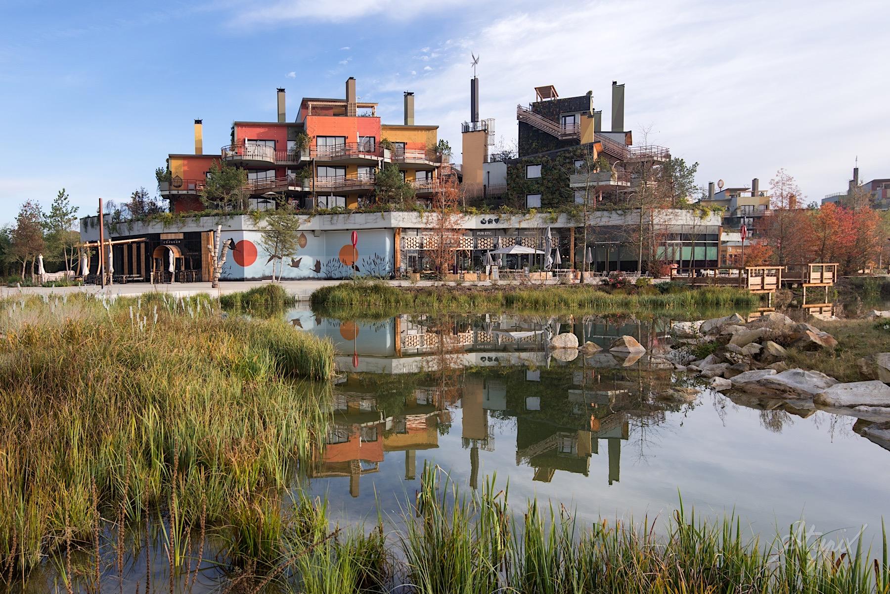disney village paris commerces