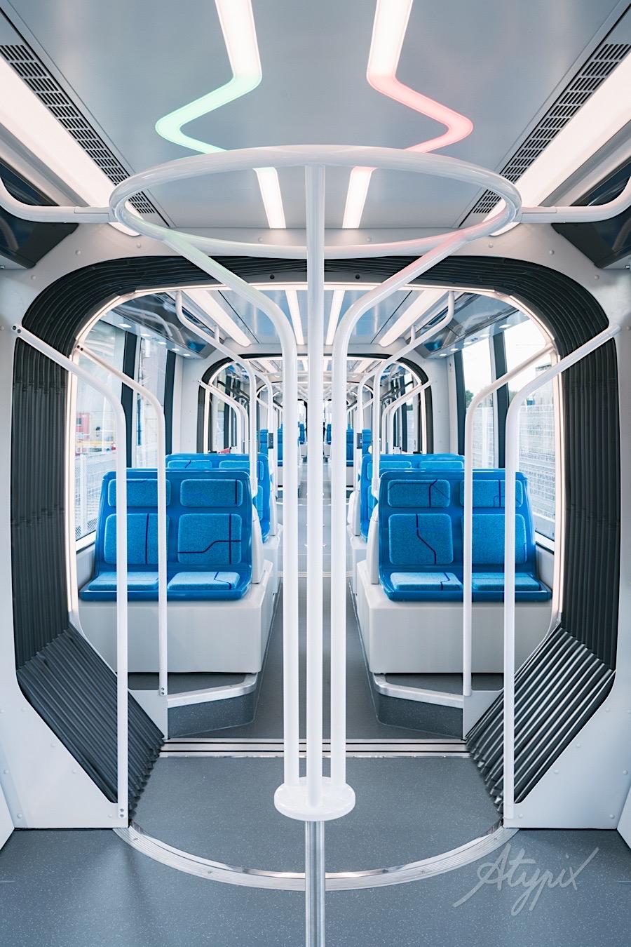 Reportage industriel tramway t9 alstom