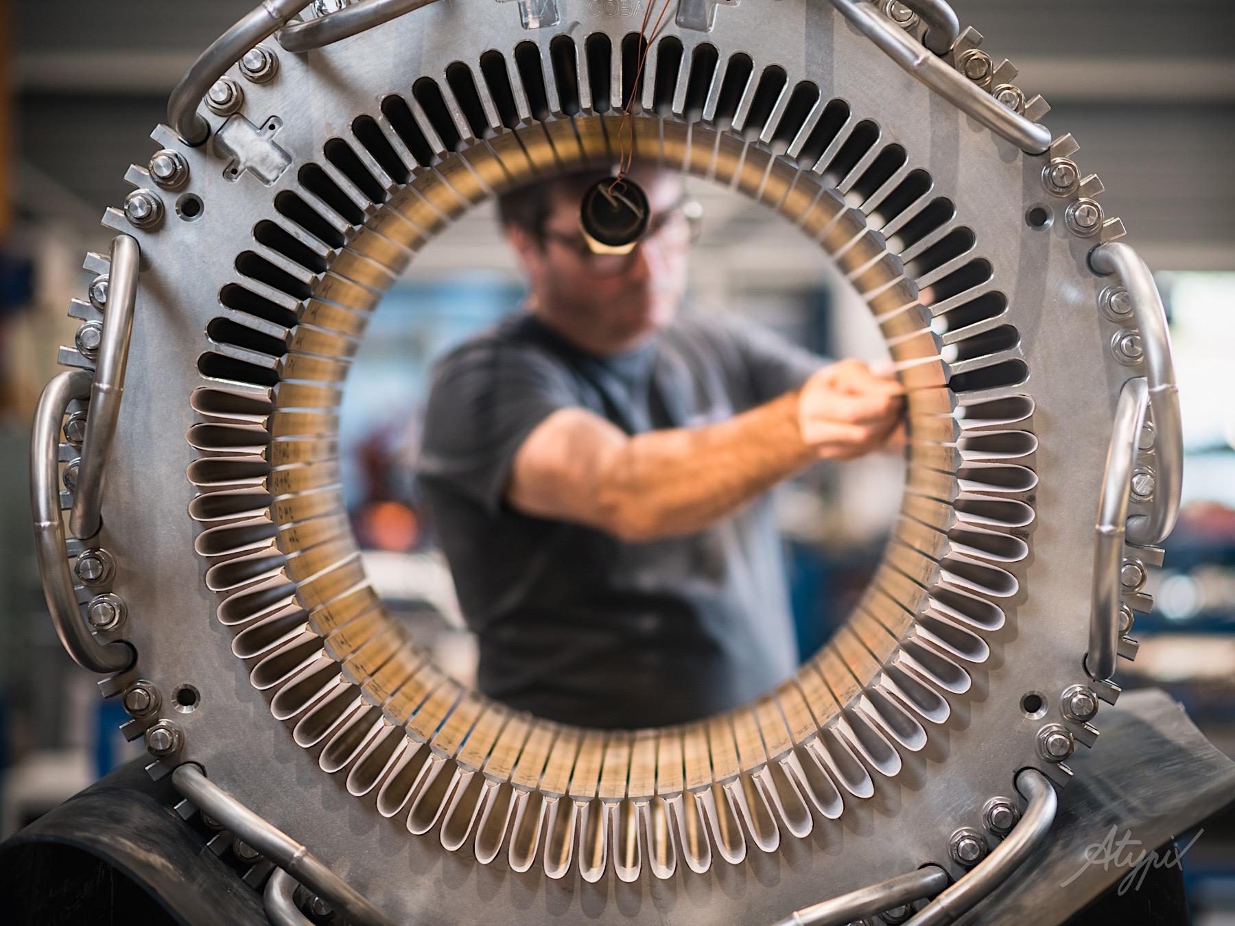 conception moteur sous-marin