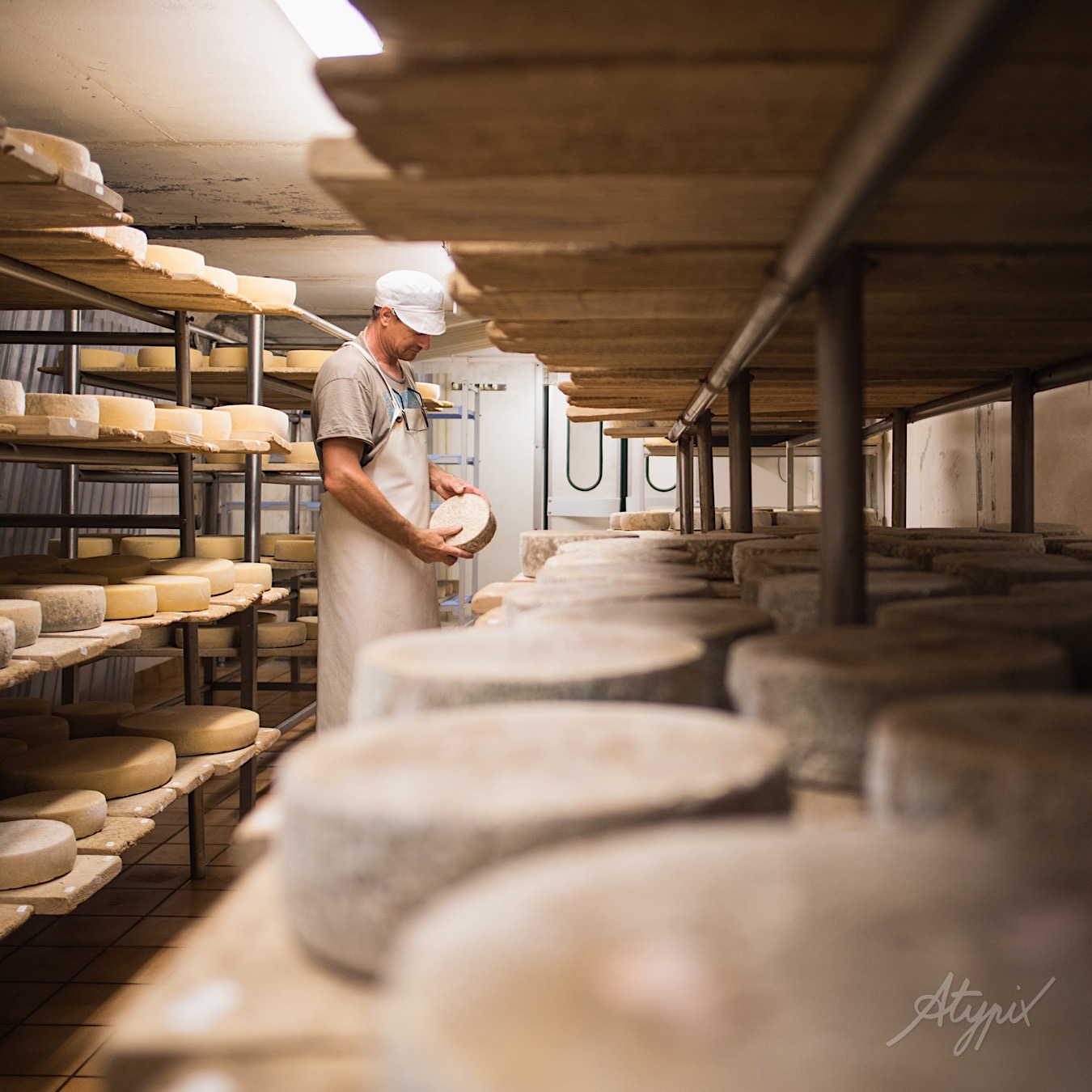portrait artisan fromager