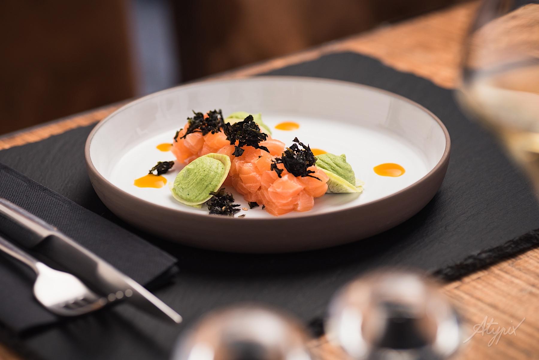 photographe culinaire restaurant étoilé