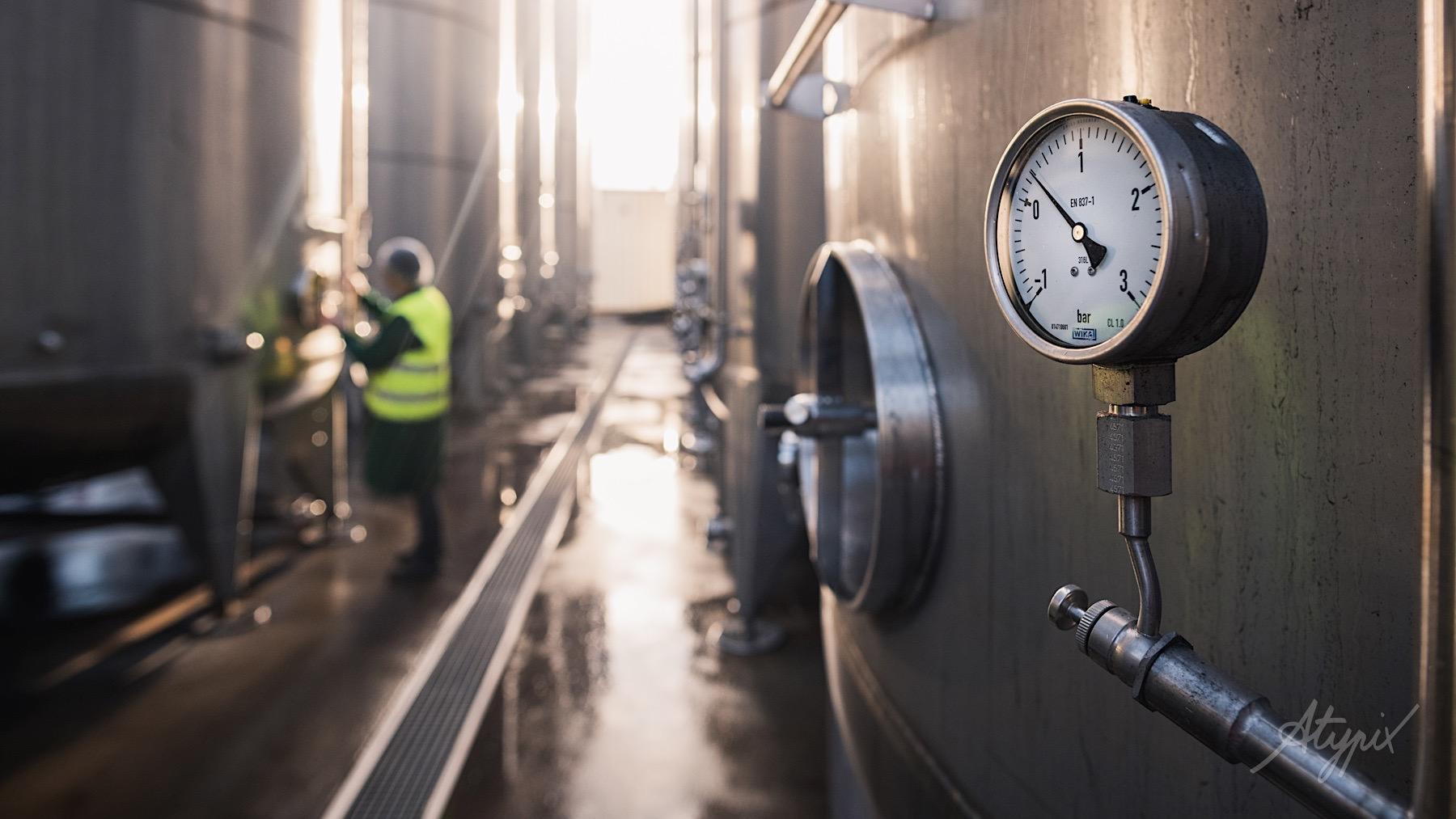 reportage usine boisson