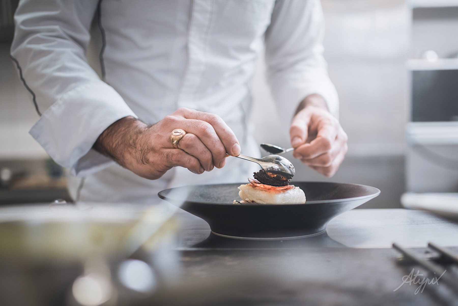 photographe cuisinier restaurant