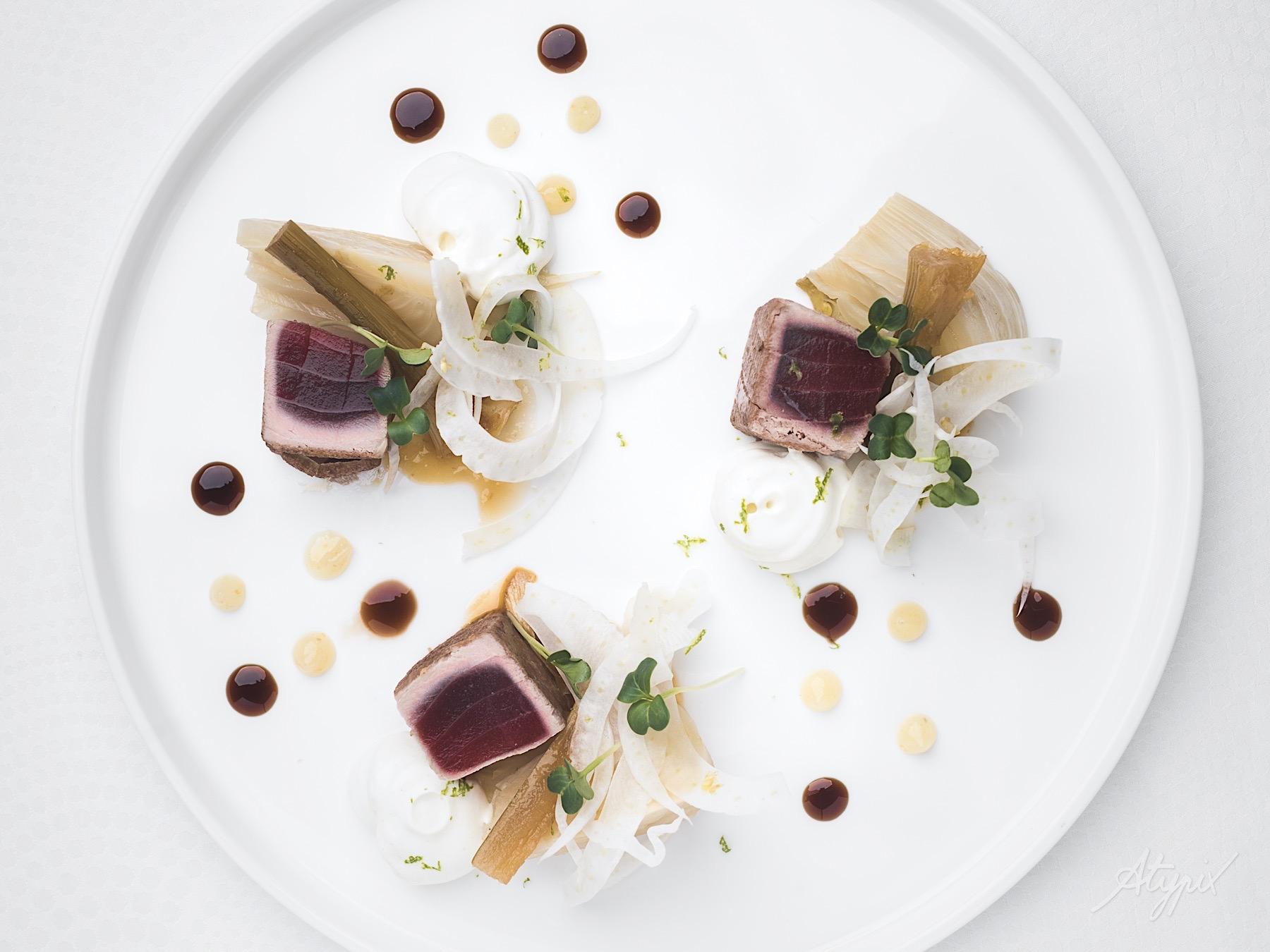 photographe culinaire plat assiette