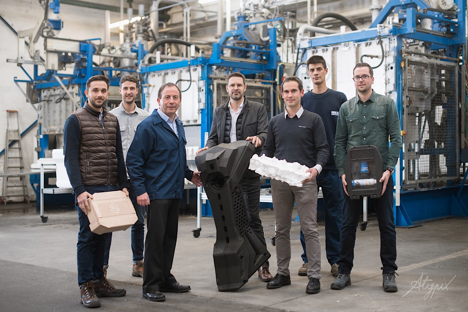 équipe R&D usine storopack nantes