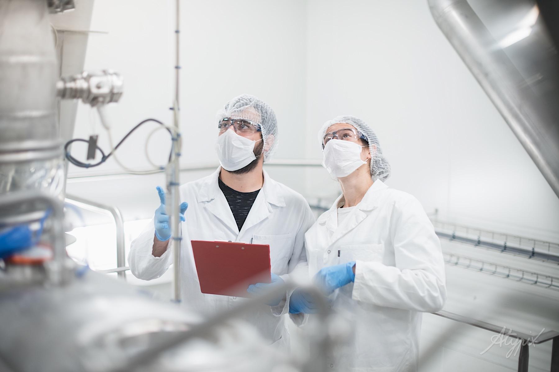 photographe laboratoire santé