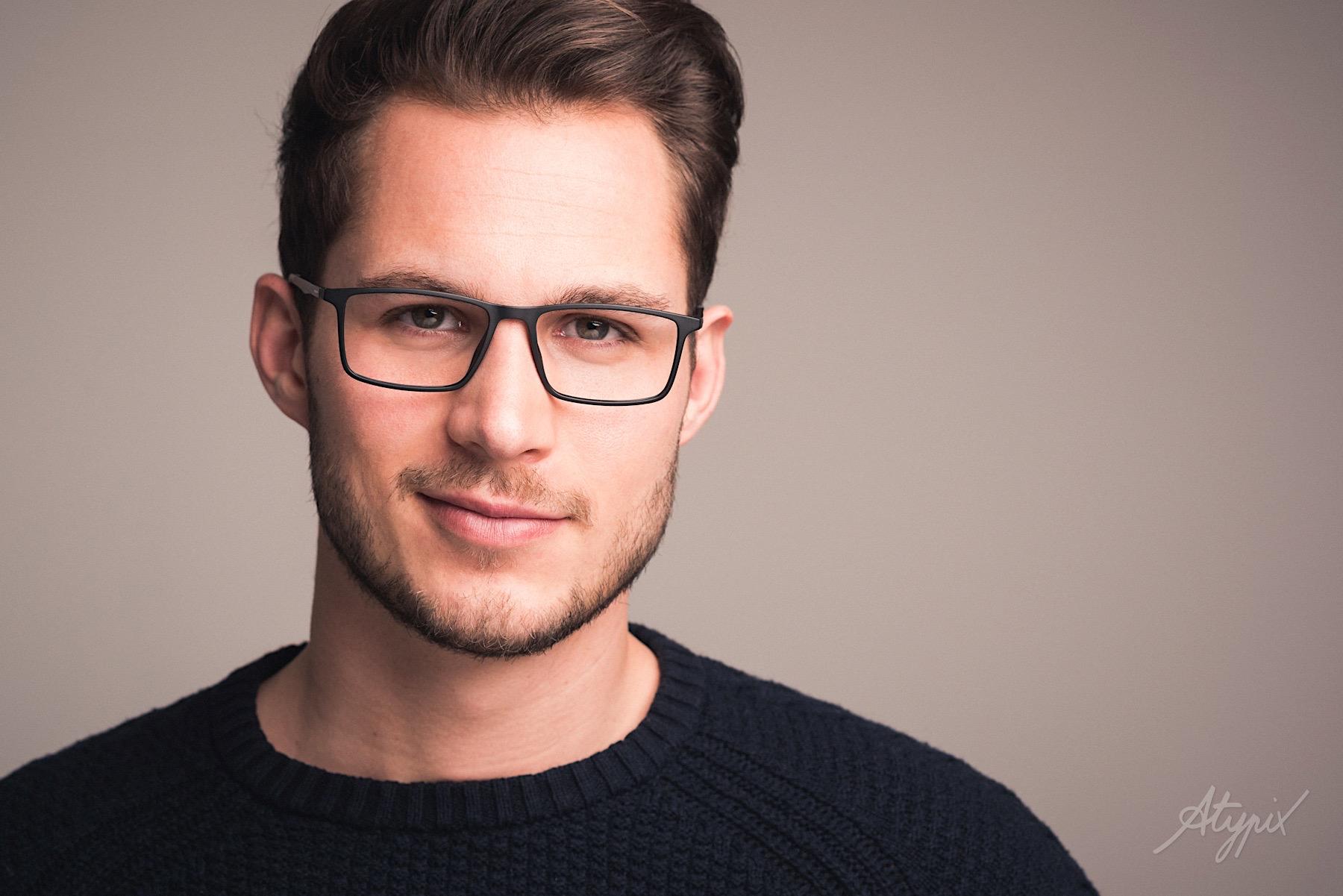 Portrait publicité lunette