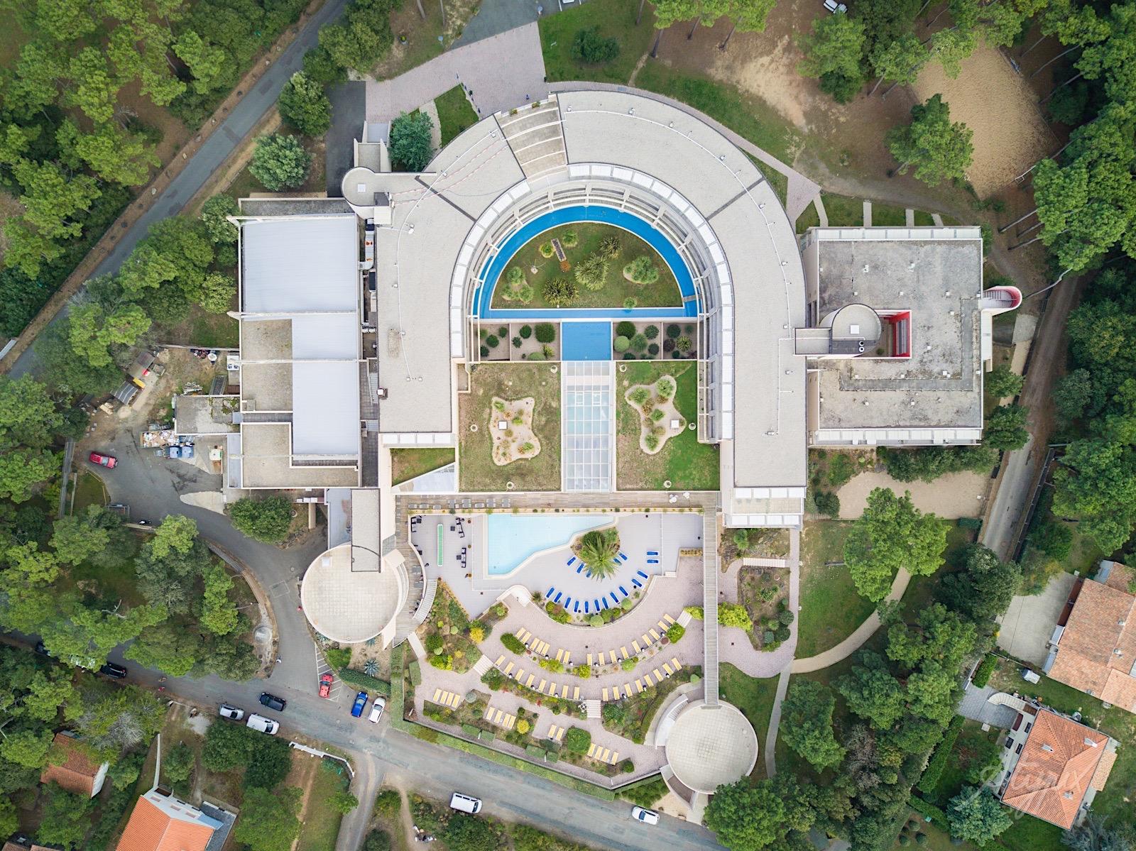 photographie drone bâtiment