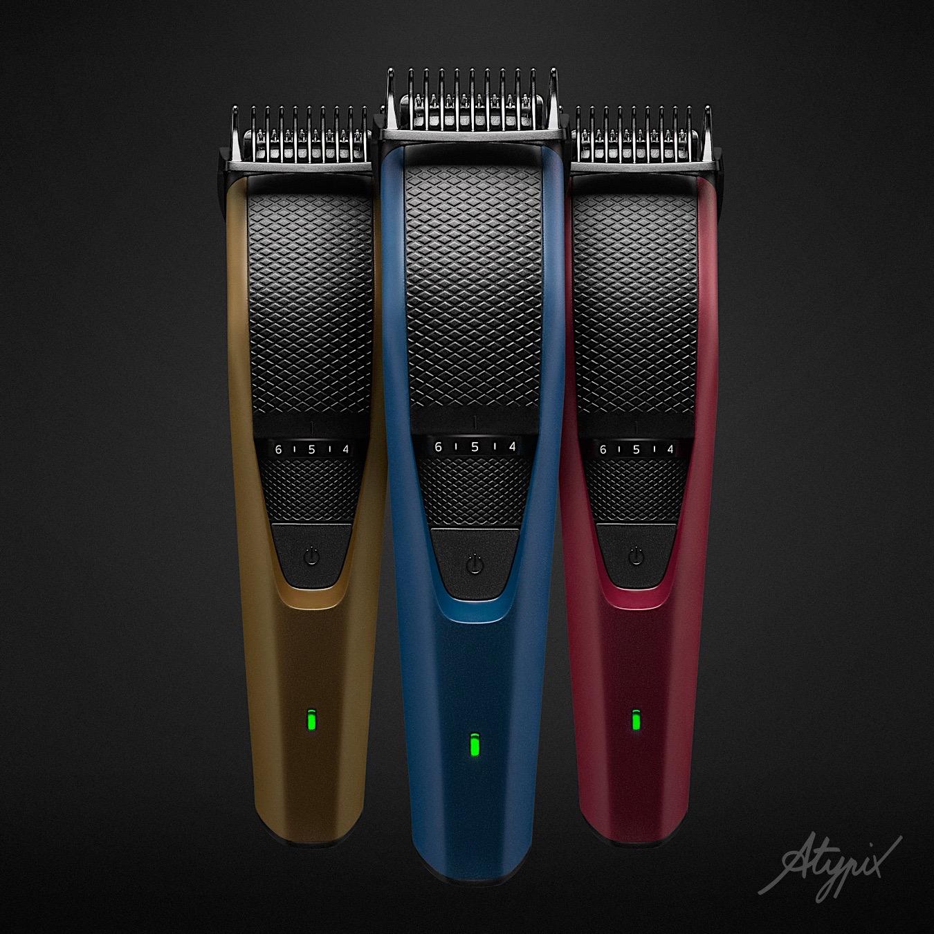 photo publicité tondeuse barbe