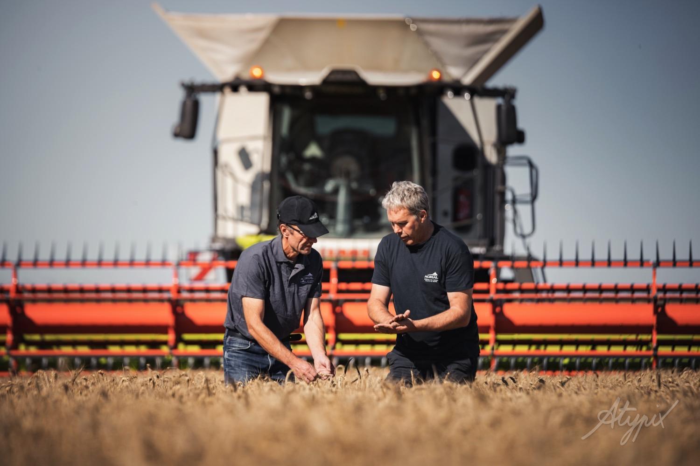 agriculteur céréales