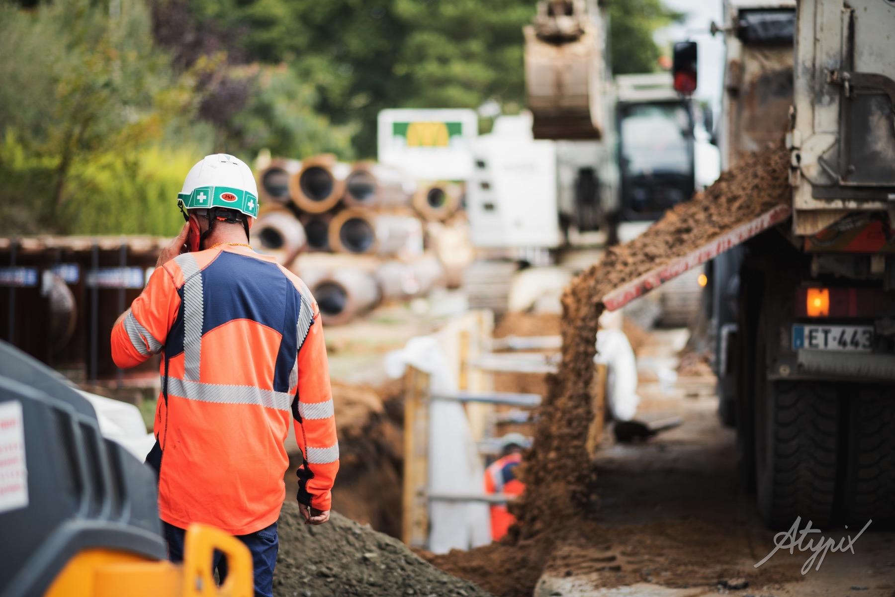 chantier presqu'ile environnement