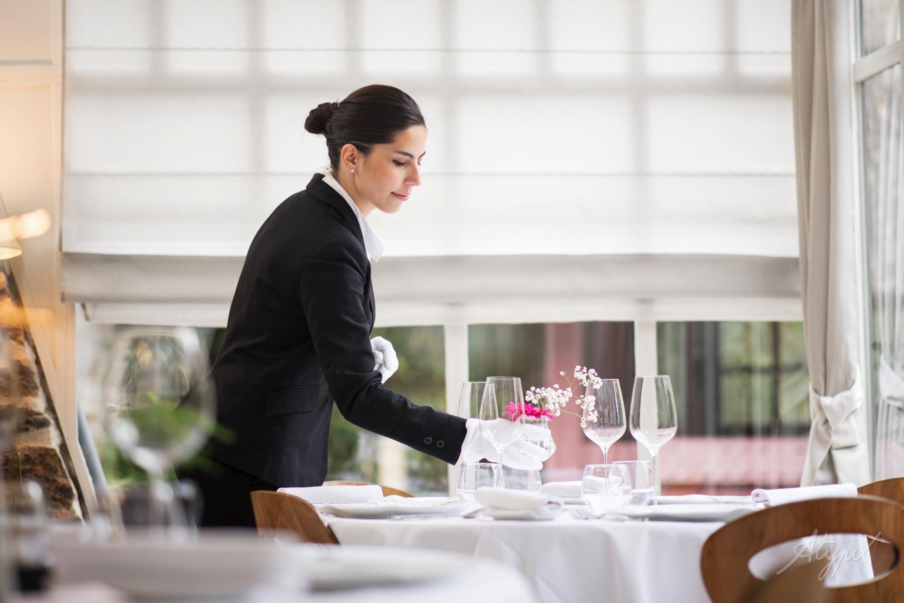 dressage de table restaurant