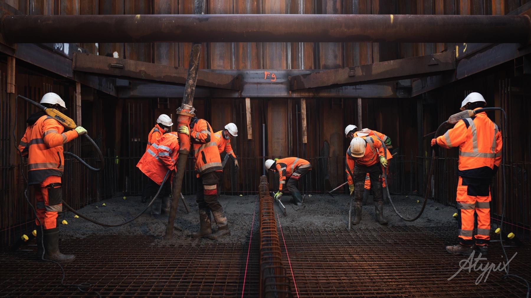 chantier génie civil