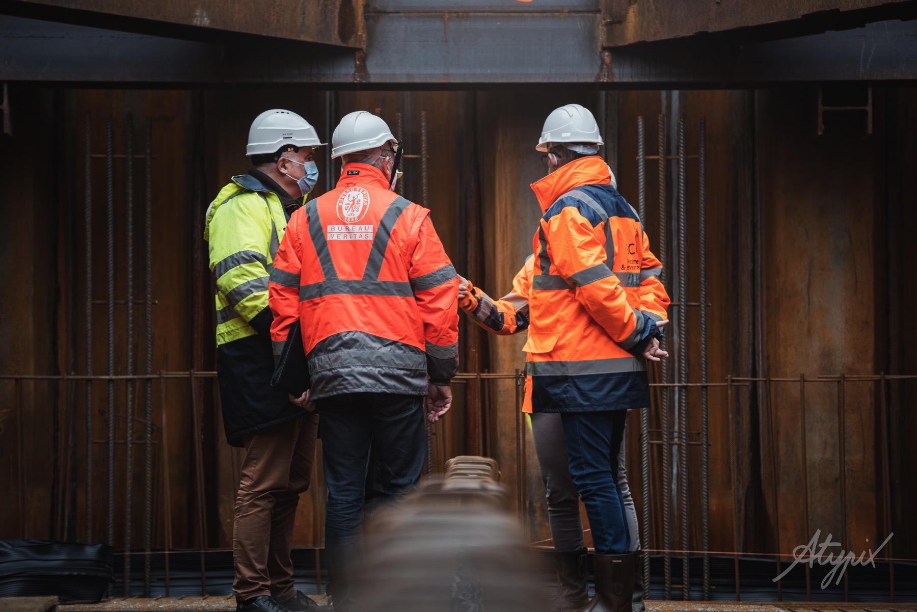 réunion chantier génie civil